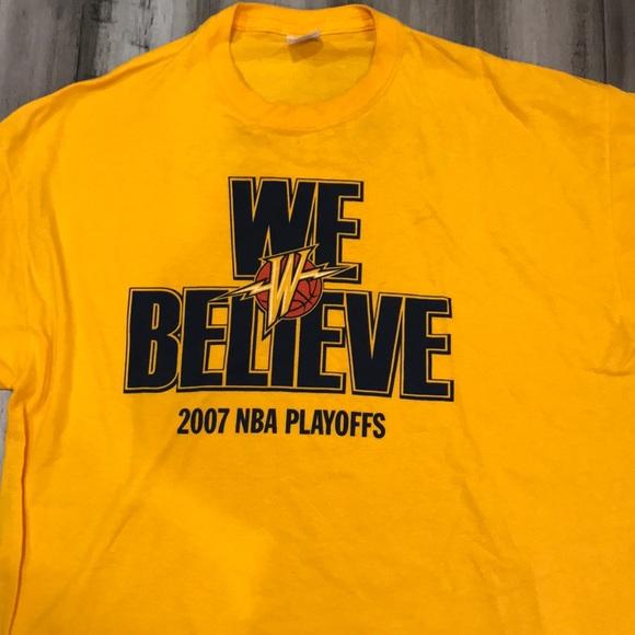 2b2c73a4 NBA Golden State Warriors We believe t-shirt XL